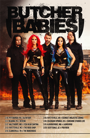 Knac Com News Butcher Babies Announce Headlining Tour