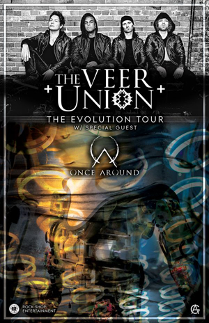KNAC COM - News - THE VEER UNION Launch 'Living Not Alive' Video