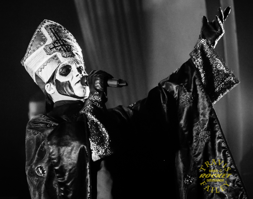 KNAC.COM - Reviews - GHOST Live In Tampa, Florida With Photos!